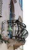 Balcón en Piran - Eslovenia Foto de archivo libre de regalías