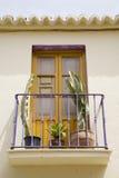 Balcón español Foto de archivo libre de regalías
