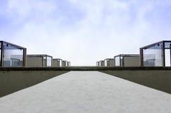 Balcón a heaven2 imágenes de archivo libres de regalías
