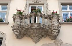 Balcón hermoso Imagenes de archivo