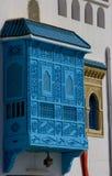 Balcón incluido Túnez Imagen de archivo