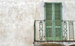 Balcón italiano Imagen de archivo libre de regalías