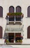 Balcón italiano Fotos de archivo