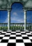 Balcón mágico Fotografía de archivo libre de regalías
