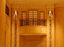 Balcón magnífico del hotel Foto de archivo libre de regalías