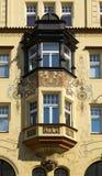 Balcón modernista Fotos de archivo libres de regalías