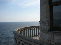 Balcón redondo Imagen de archivo libre de regalías