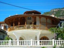 Balcón redondo turco Imagen de archivo