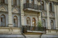 Balcón viejo Imagenes de archivo