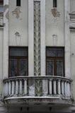 Balcón viejo Foto de archivo libre de regalías
