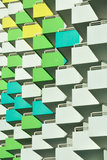 Balcões à esquerda Imagem de Stock