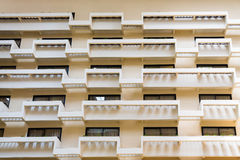 Balcões do vestíbulo do hotel Imagens de Stock Royalty Free