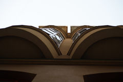 Balcões panorâmicos Fotos de Stock Royalty Free