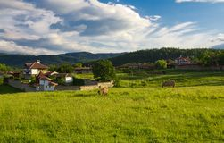 Balcan village Stock Photography