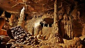 Balcarka-Höhle im Moravsky Kras, Moravian-Karst lizenzfreie stockfotografie