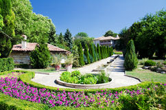 balchik植物园 免版税库存图片