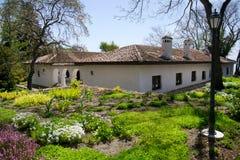 balchik美丽的庭院 库存照片