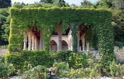 Balchik botanic garden stock photo