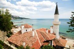 Balchik, Bulgária Foto de Stock Royalty Free