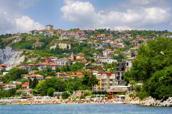 Balchik Coastal Veiw, Bulgaria. 2016 July, 3 Stock Images