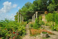 Balchik Garden, Black Sea, Bulgaria Royalty Free Stock Image