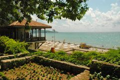 Balchik Garden, Black Sea, Bulgaria Royalty Free Stock Photos
