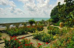 Balchik Garden, Black Sea, Bulgaria Stock Photography