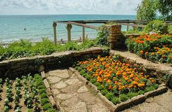 Balchik Garden, Black Sea, Bulgaria Stock Images