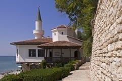 Balchik palace by Black Sea Royalty Free Stock Images