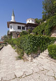 Balchik palace by Black Sea Stock Photography