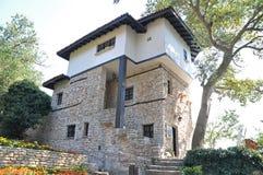 Balchik Palace and Botanical garden Stock Photos