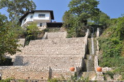 Balchik Palace and Botanical garden Stock Photography