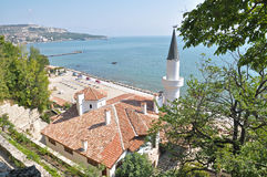 Balchik Palace and Botanical garden Royalty Free Stock Images