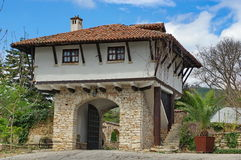 Landmark attraction in Bulgaria. Balchik Palace Stock Photos