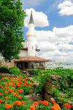 Balchik Palace and gardens Royalty Free Stock Images