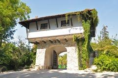 Balchik Palast und botanischer Garten Lizenzfreie Stockfotografie