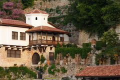 Balchik, a part of the palace Stock Photos