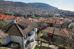 Balchik roof Stock Photo
