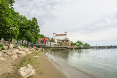 Balchik ,seaside resort in Bulgaria Stock Photo