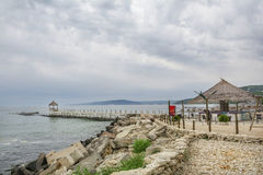 Balchik ,seaside resort in Bulgaria Stock Photos