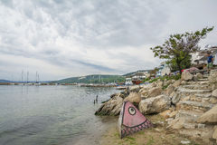 Balchik ,seaside resort in Bulgaria Royalty Free Stock Photography