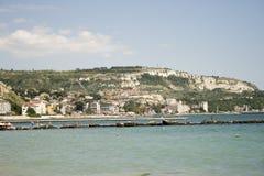 Balchik-Seeküste Stockfotografie