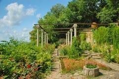 Balchik trädgård, Black Sea, Bulgarien Royaltyfri Bild