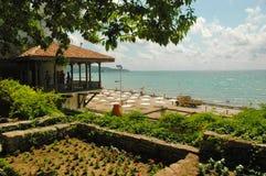 Balchik trädgård, Black Sea, Bulgarien Royaltyfria Foton
