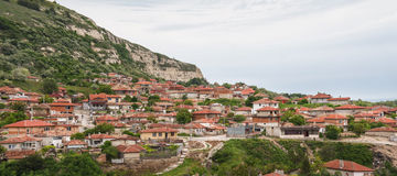 Balchik view, famous seaside resort , Bulgaria Stock Photography
