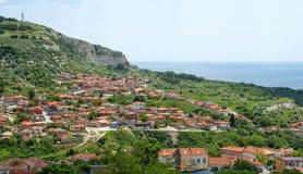 Balchik view, famous seaside resort , Bulgaria Stock Image