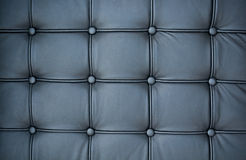 Balck leather. Texture black leather close-up background Royalty Free Stock Photography