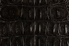 Balck leather texture Stock Photo