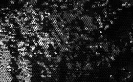 Balck sequins pattern texture. Fashion background Stock Photos