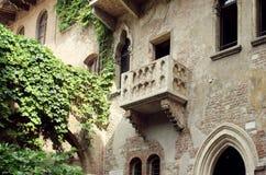 Balcón de Juliet Capulet Imágenes de archivo libres de regalías